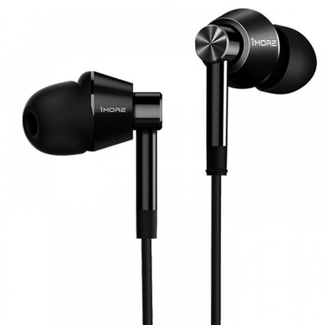Стерео-наушники 1MORE Dual Driver In-Ear Headphones (E1017)