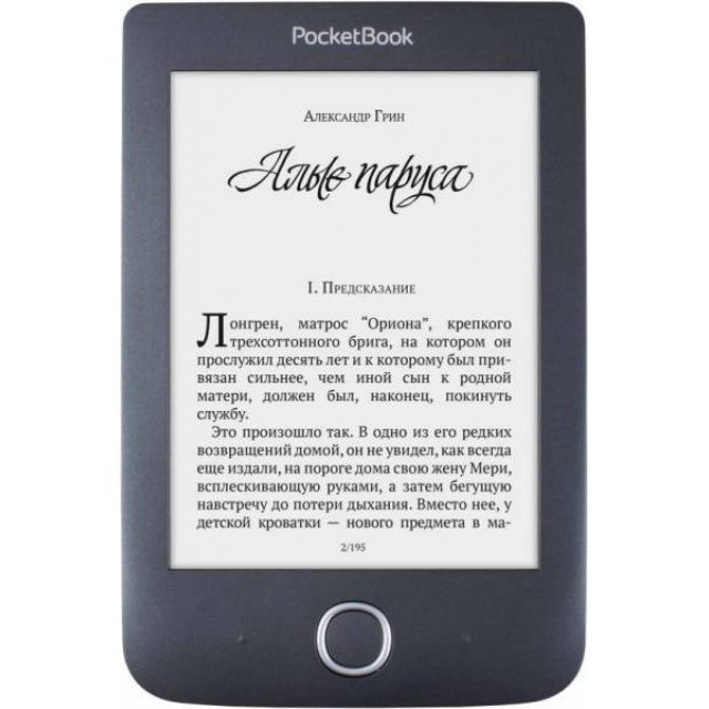 Электронная книга PocketBook 614 Plus Basic 3 Black