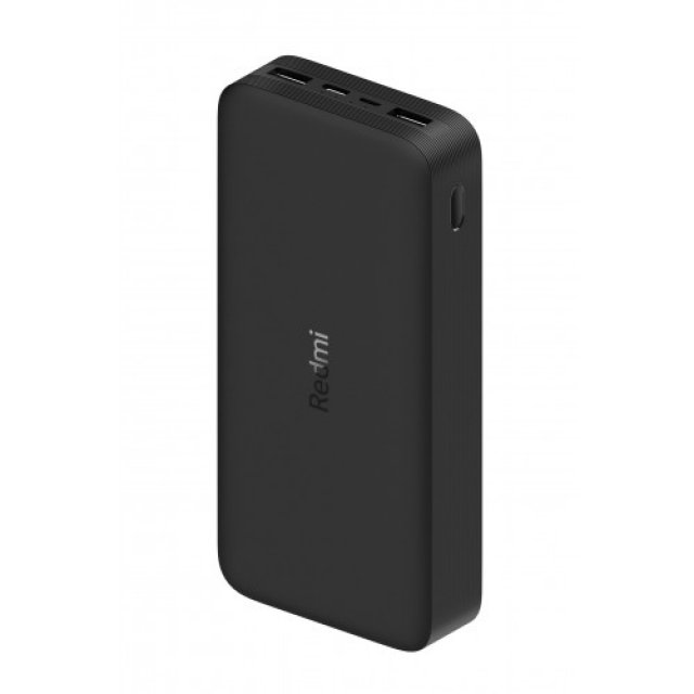 Аккумулятор Xiaomi Redmi Power Bank Fast Charge 20000 Black Черный