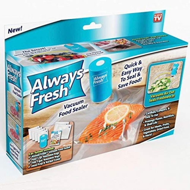 Вакуумные пакеты Vacuum Sealer Always Fresh