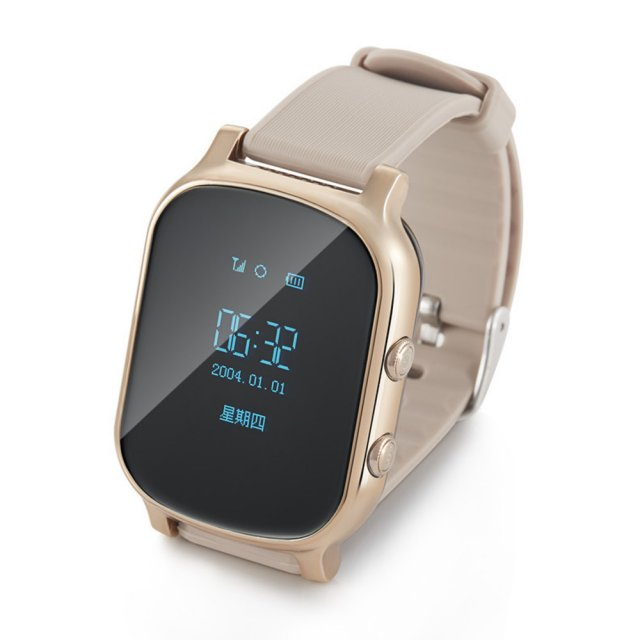 Детские GPS часы Smart Baby Watch GW700 Золото