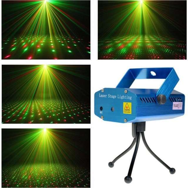 ЛАЗЕРНЫЙ ПРОЕКТОР LASER STAGE LIGHTING MINI