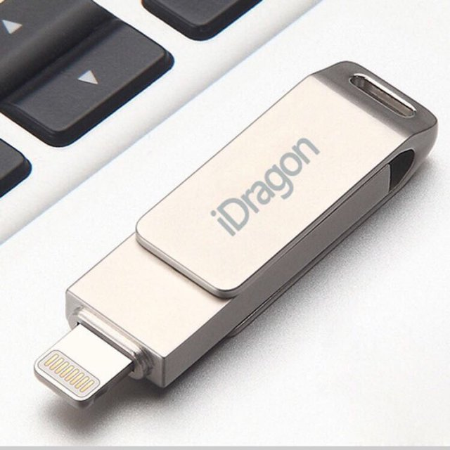 Флешка для iPhone/iPad USB 32GB iDragon